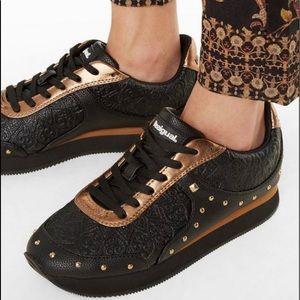 Desigual Galaxy Valkiria Sneakers Size 7 NEW